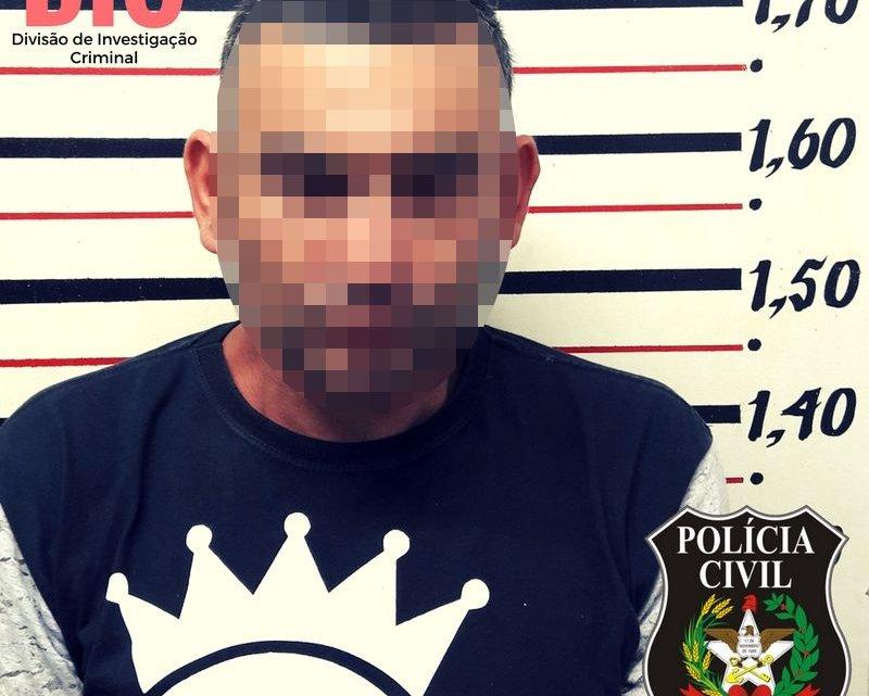 Polícia civil prende homem por tentativa de homicídio contra mulher