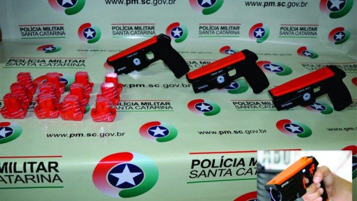 POLICIA MILITAR DE CHAPECÓ PASSARÁ USAR ARMAS DE CHOQUES NO COMBATE AO CRIME