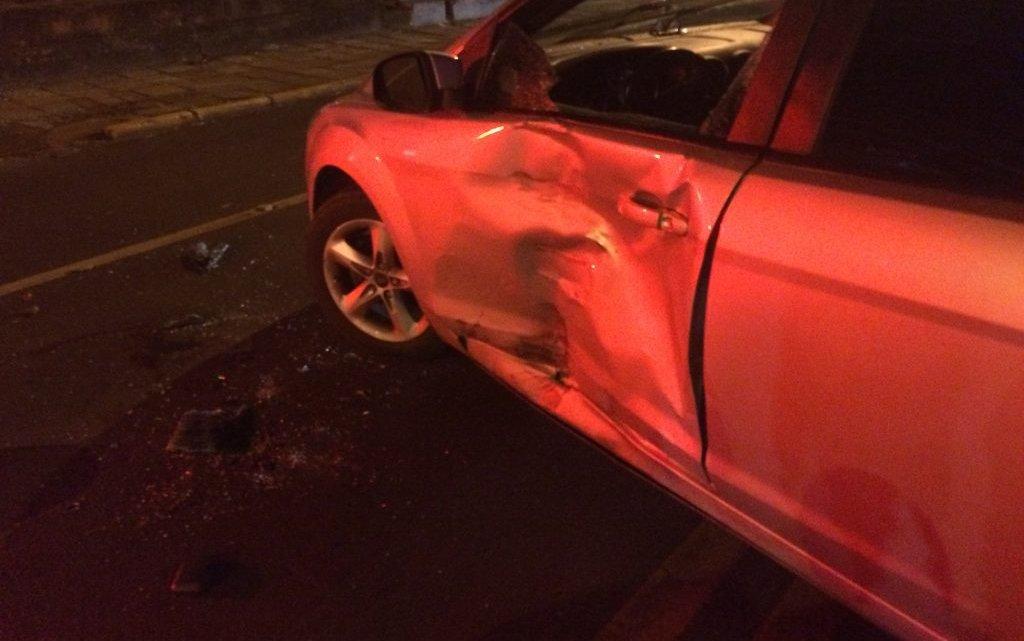 Motociclista fica ferido em acidente de trânsito em Chapecó
