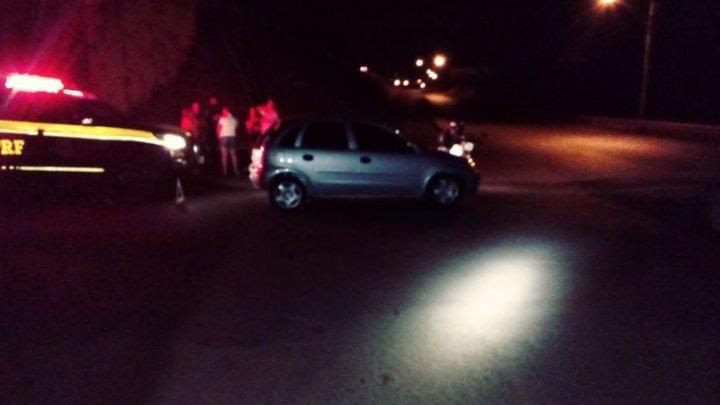 Acidente no viaduto de Chapecó deixa ferido