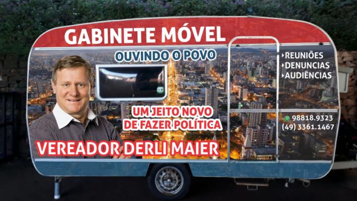 Vereador Derli Maier anuncia a implantação do Programa Gabinete Móvel