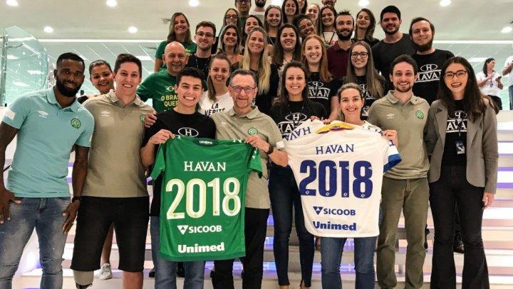 Chapecoense e Havan firmam parceria por mais uma temporada