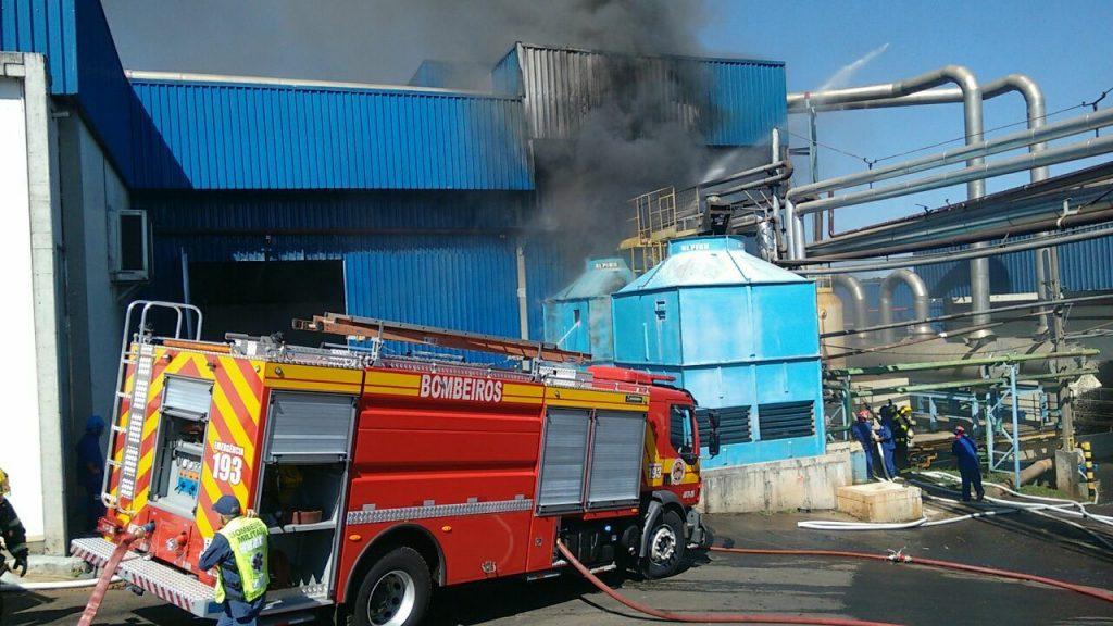 BRF se manifesta sobre incêndio em unidade de Chapecó