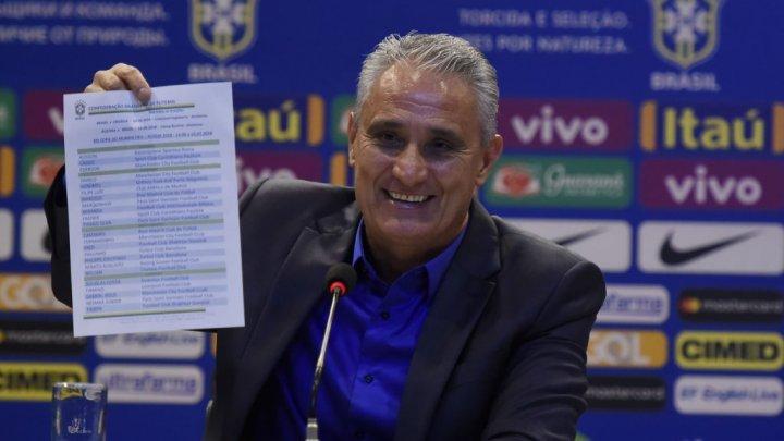 Tite anuncia os 23 convocados para a Copa do Mundo 2018 na Rússia
