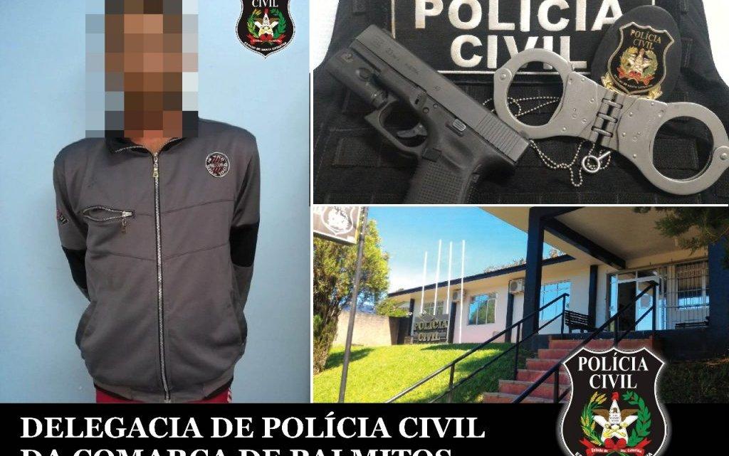 CAIBI – Polícia Civil cumpre mandado de prisão