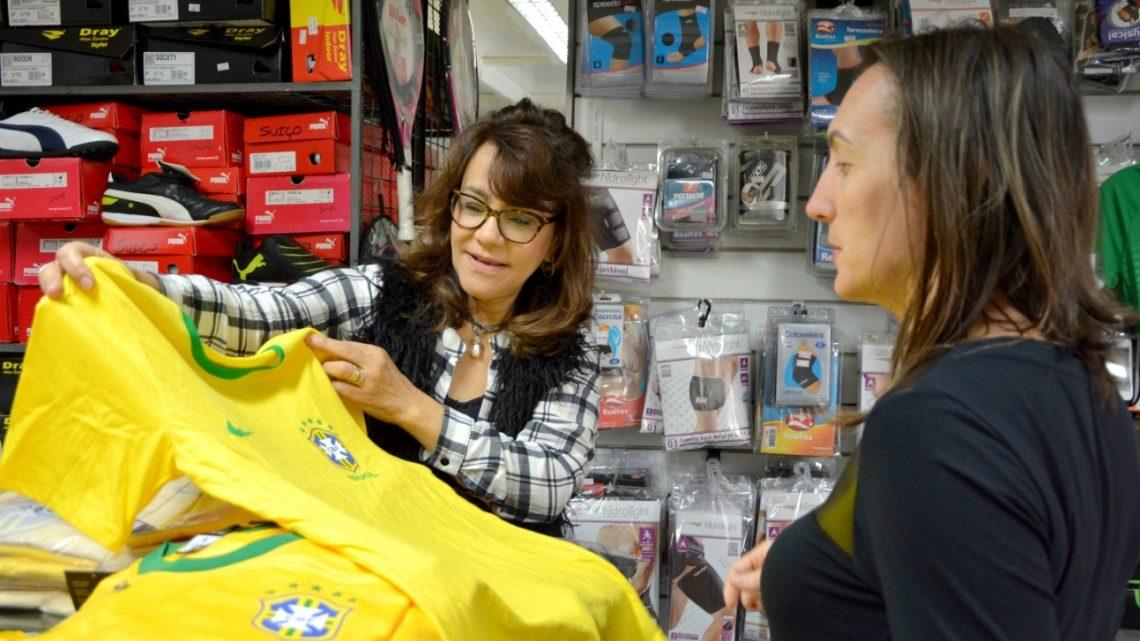 Copa do Mundo estimula vendas no comércio de Chapecó