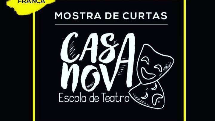 A Casanova Escola de Teatro em parceria com o Cinema Arcoplex apresentam a Mostra de Curtas Metragens