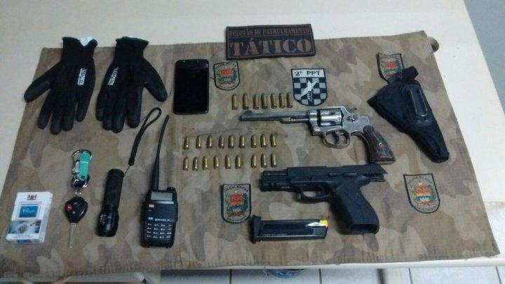 Polícia Militar prende trio após assalto a residência em Chapecó