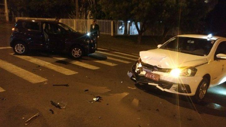 Acidente de trânsito é registrado em Chapecó