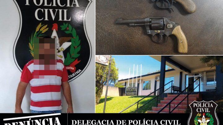 CAIBI – Polícia Civil cumpre mandado de busca e apreensão e apreende armas de fogo