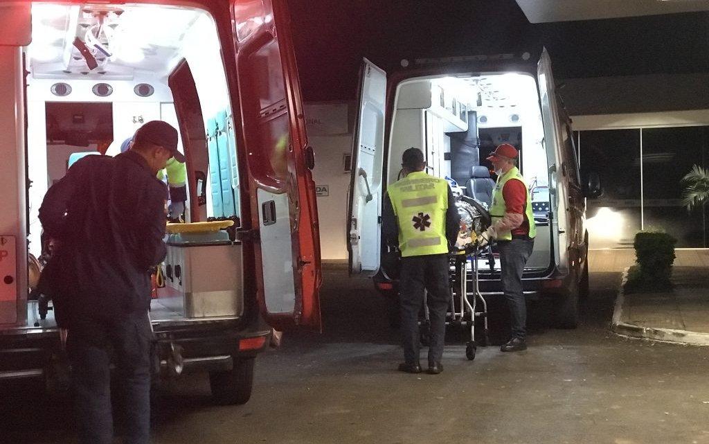 Três pessoas ficam gravemente feridas em acidente em cordilheira alta