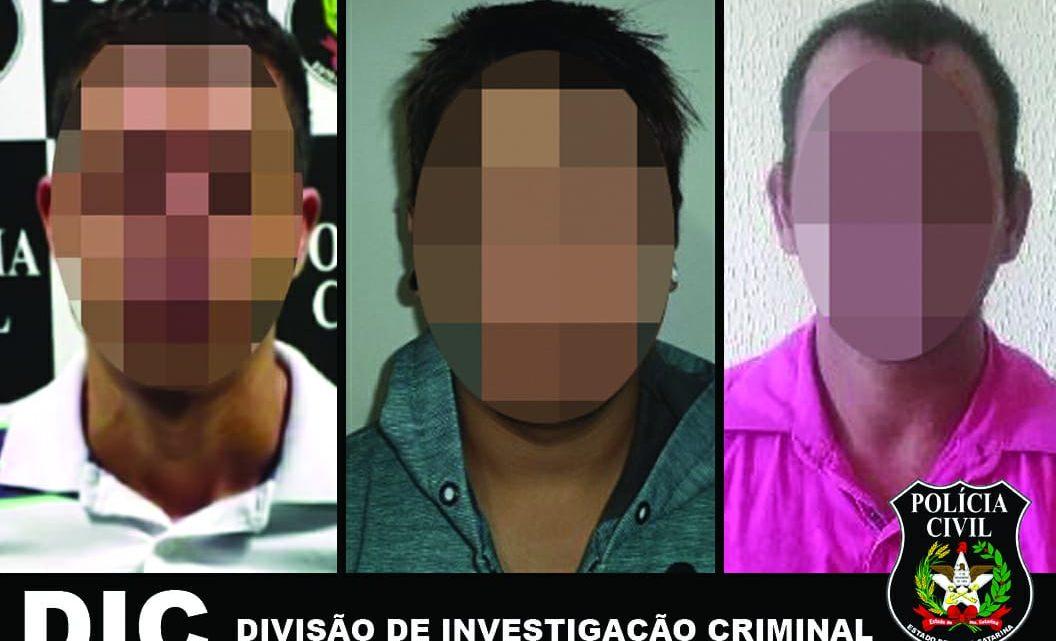 DIC PRENDE TRÊS PESSOAS PELOS CRIMES DE HOMICÍDIO QUALIFICADO E FURTO TENTADO