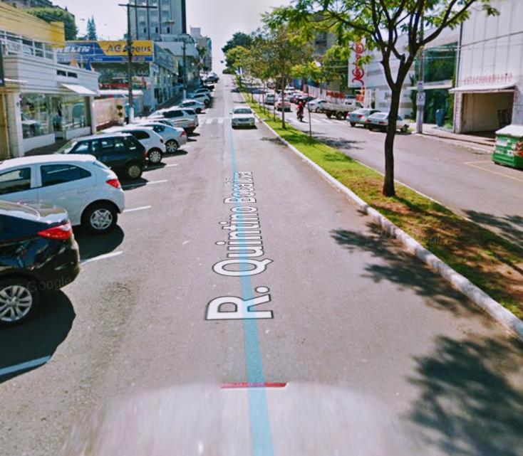 Rua Quintino Bocaiúva no centro passará a ter estacionamento paralelo apartir desse domingo