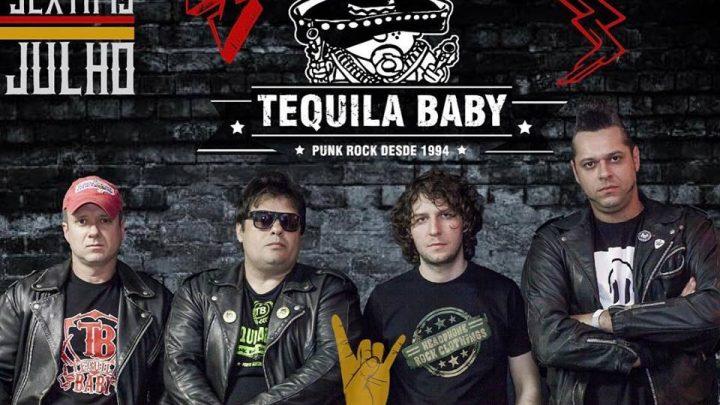 Tequila Baby em Chapecó – Dia Mundial do Rock