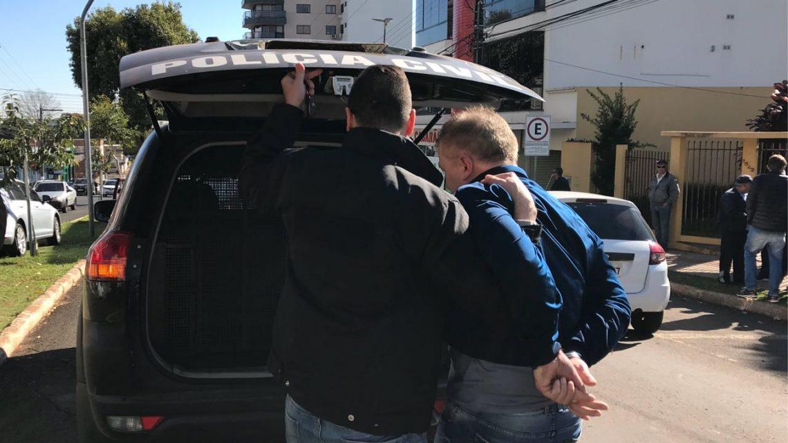 Polícia Civil prende um dos maiores estelionatários da região