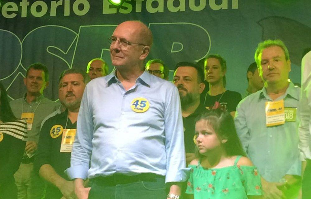 Paulo Bauer é o candidato do PSDB ao governo do estado