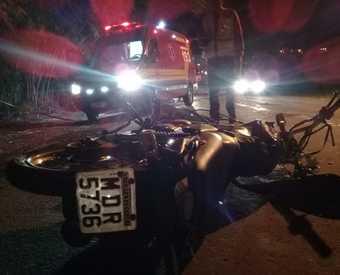 Motociclista morre em acidente de trânsito em São Lourenço do Oeste