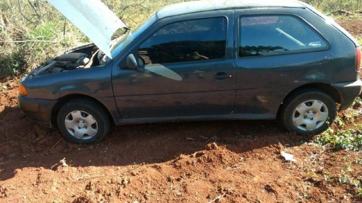 PM encontra veículo abandonado em Chapecó