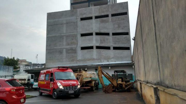 Corpo de homem é encontrado mutilado após possível queda de prédio em construção no centro de Concórdia