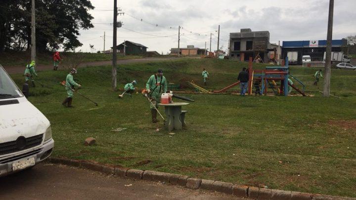 Confira as melhorias feitas em escolas, ruas e estradas de Chapecó