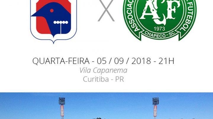 Tudo que você precisa saber sobre Paraná x Chapecoense hoje na vila Capanema
