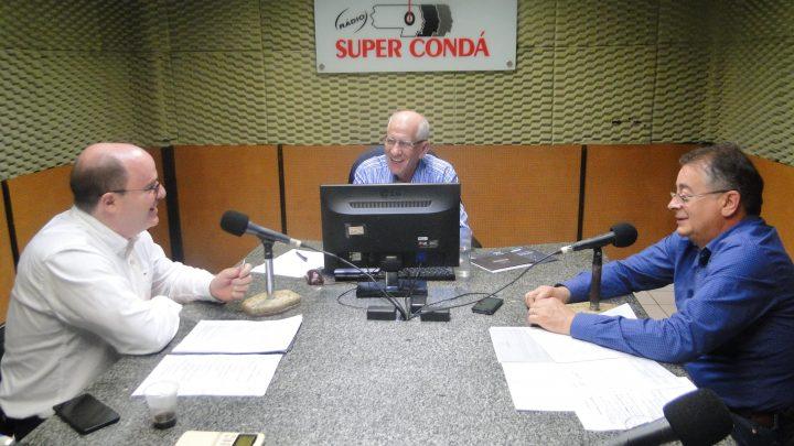 FETRANSLOG no Estúdio da Rádio Super Conda