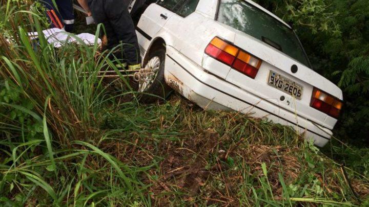Motorista morre em acidente na SC-157 em Quilombo