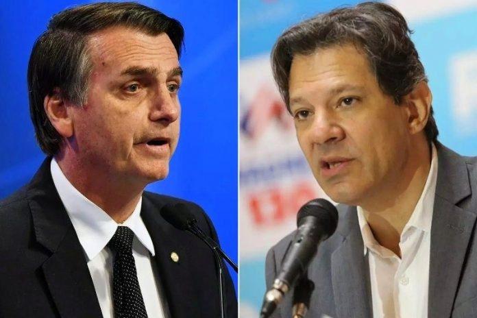 Bolsonaro tem 60,9% e Haddad, 39,1%, aponta pesquisa