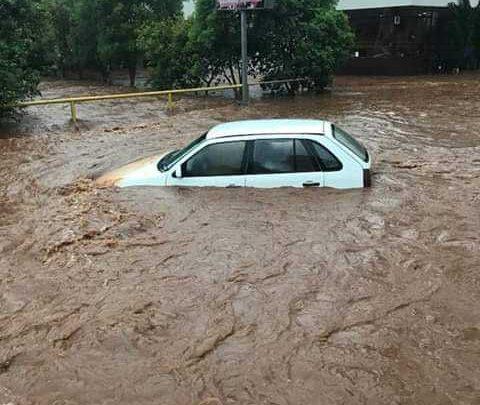 Xanxerê registra vários pontos de alagamentos devido fortes chuvas