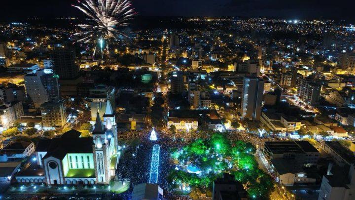 Abertura no Natal em Chapecó será nesta sexta-feira (30)