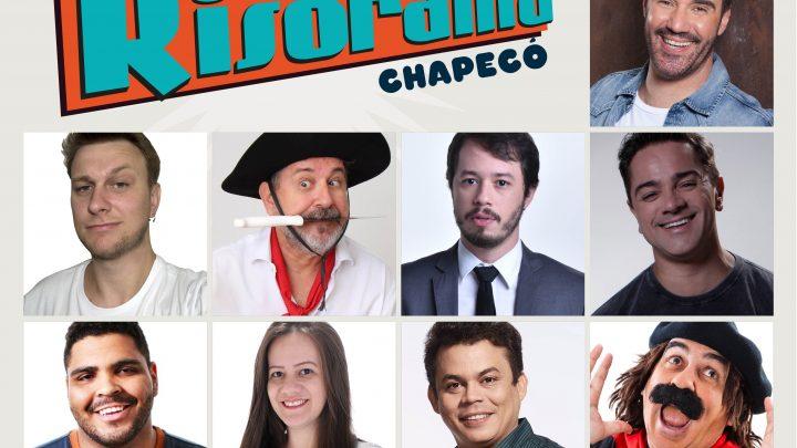 Chapecó recebe o Risorama, principal festival de comédia do Brasil, com mais de 12 humoristas, em dezembro