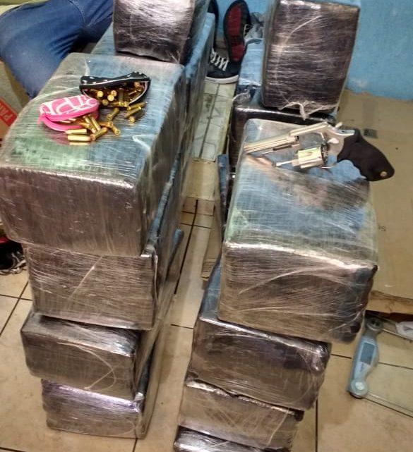 DIC apreende quase 300kg de maconha e arma de fogo em Chapecó