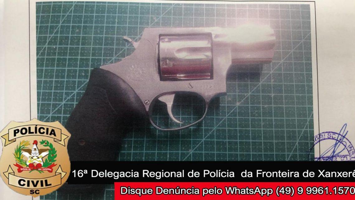 Polícia Civil de Xaxim indicia homem por tentativa de homicídio e posse ilegal de arma de fogo
