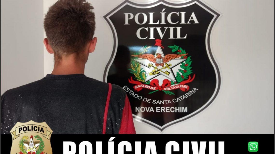Polícia Civil prende autor de tentativa de homicídio em Nova Erechim