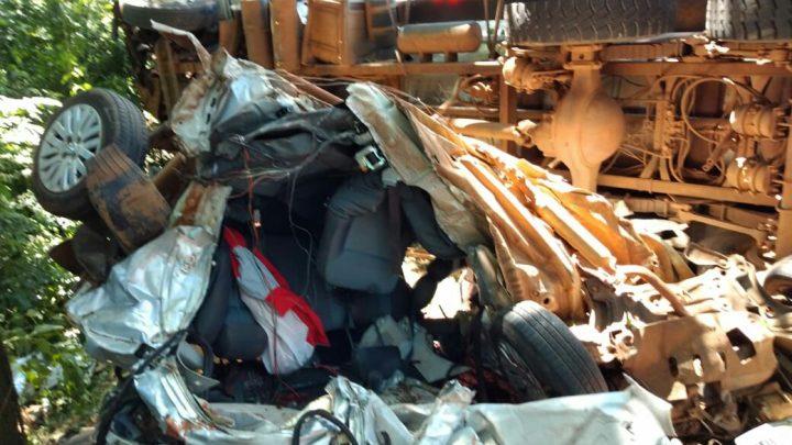 Quatro pessoas morrem em grave acidente na BR-282 em Nova Erechim