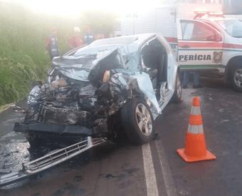 Acidente mata dois jovens na BR-282 em Nova Erechim