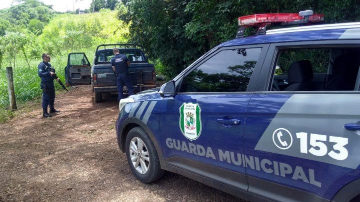 Guarda Municipal recupera dois veículos com registro de furto ou roubo