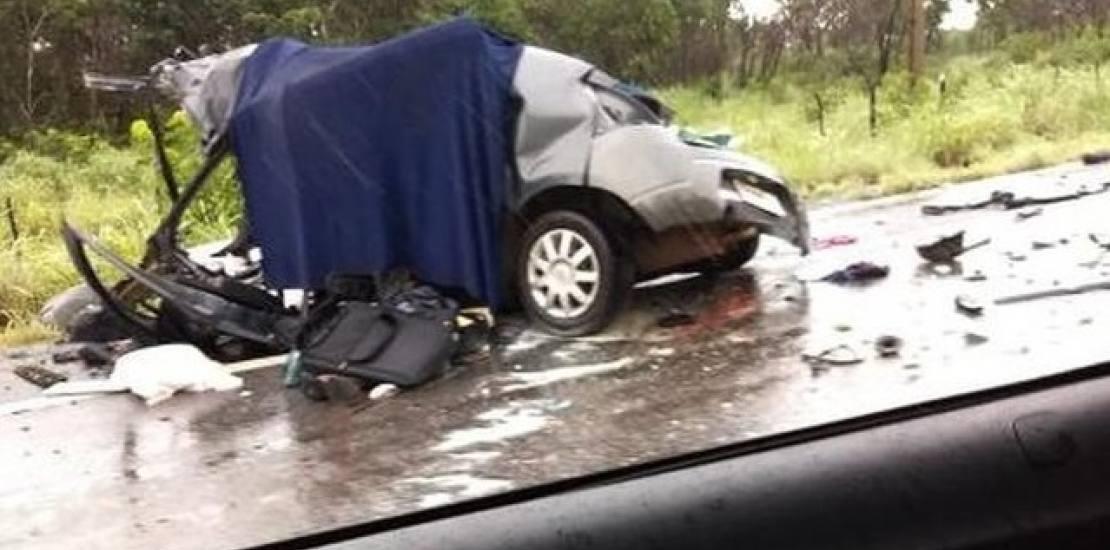 Acidente envolvendo carro de Chapecó deixa duas pessoas mortas no Mato Grosso