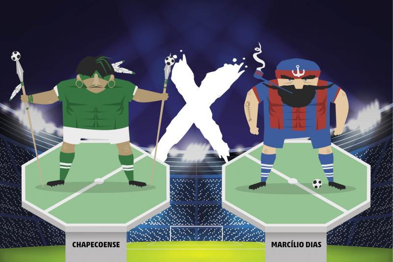 Chapecoense estréia hoje no Catarinense contra Marcílio Dias