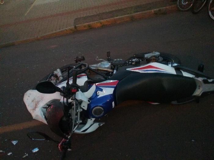 Motociclista morre em grave acidente no bairro Efapi em Chapecó