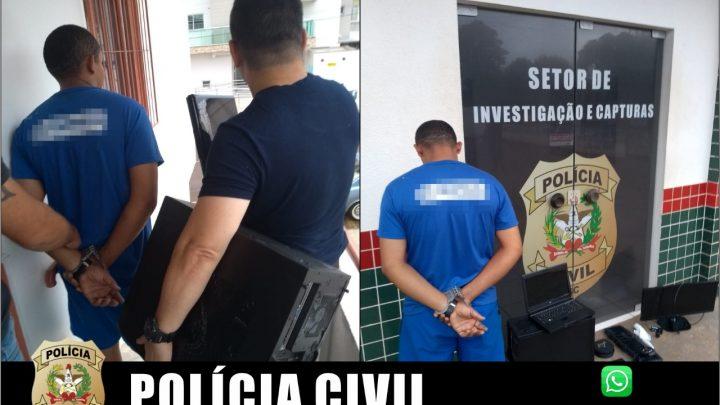 """Pedófilo é preso durante operação """"Anjo da Guarda"""" em Pinhalzinho"""