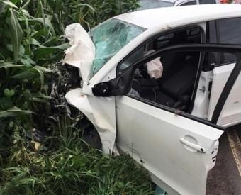 Condutora de Cordilheira Alta morre em acidente de trânsito entre Água Doce e Catanduvas