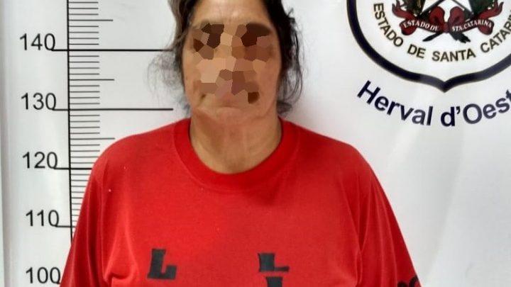 Acusada de matar o marido em Herval é presa 21 anos após o crime