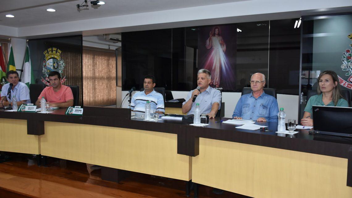 Representantes da SACH apresentam propostas sobre Efapi 2019 na Câmara de Vereadores