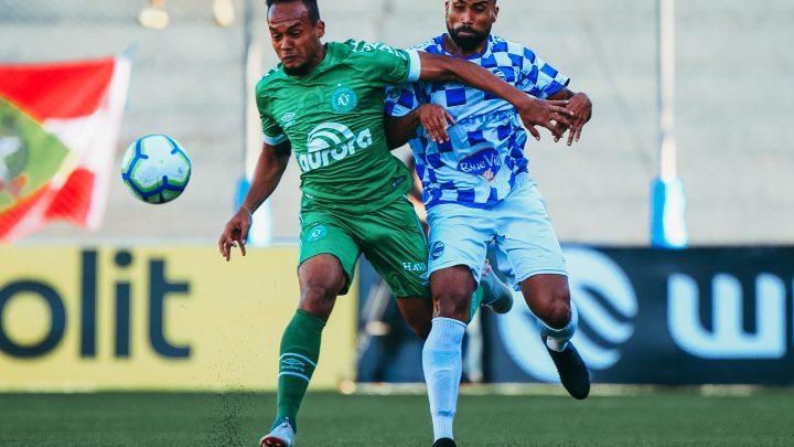 Chape avança de fase na Copa do Brasil
