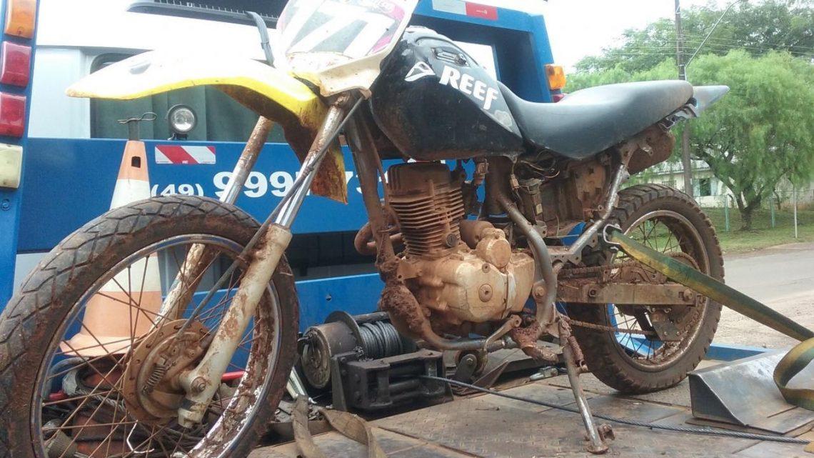 Motocicleta furtada é recuperada em Chapecó