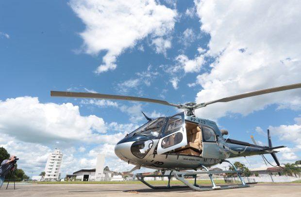Helicóptero que atende governador fará transporte de órgãos em Santa Catarina