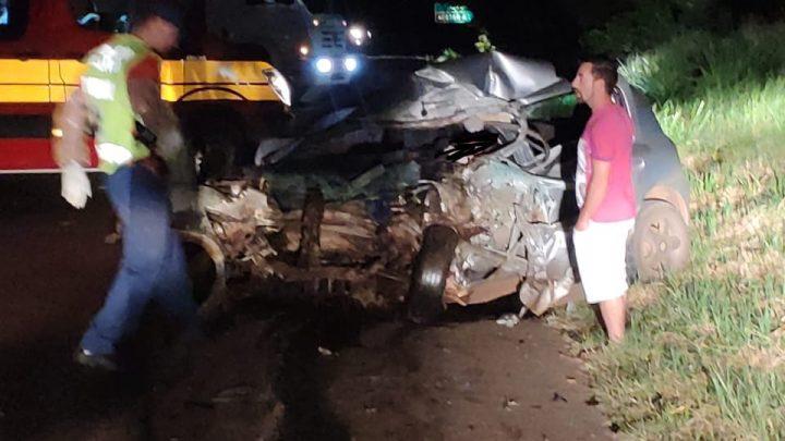 Acidente envolvendo veículo de Chapecó deixa dois mortos em Pinhalzinho