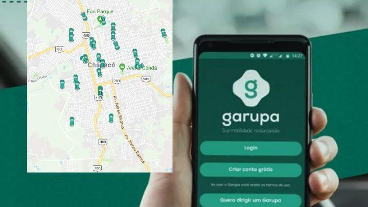 Aplicativo GARUPA já tem mais de 100 motoristas parceiros em Chapecó