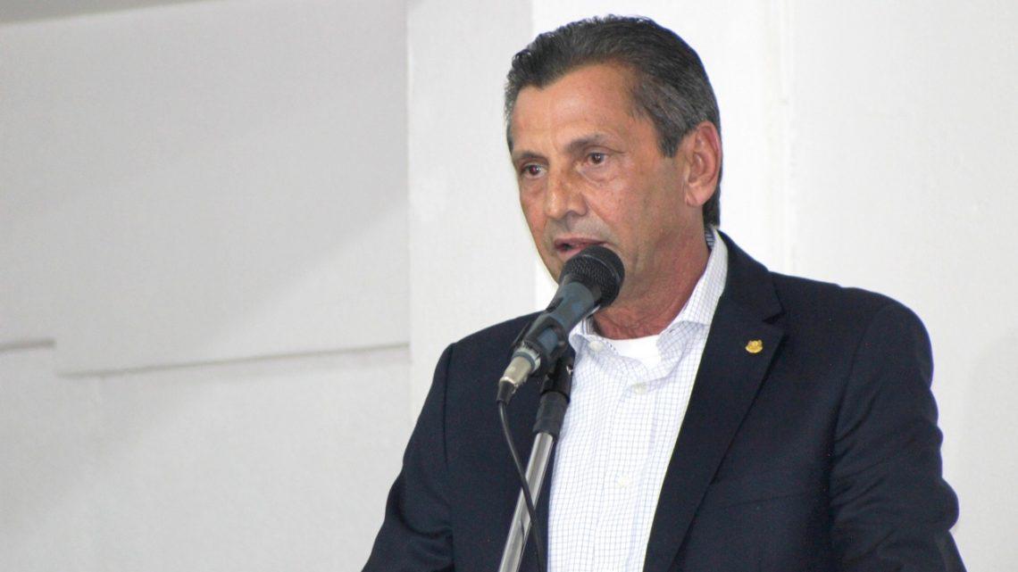Julio Garcia visita presidente da Câmara de Vereadores e participa de sessão ordinária em Chapecó